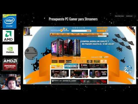 Presupuesto PC para Gamers y Streamers hasta 4K en stream y 8K en renderizado