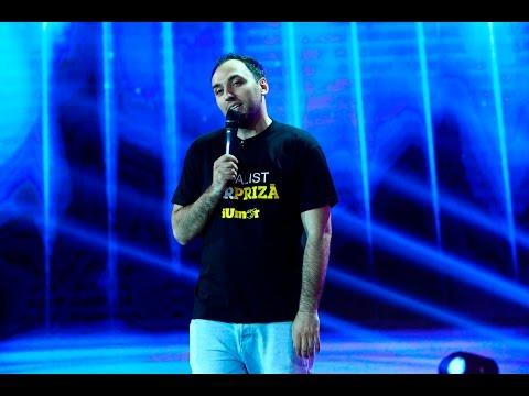 """Marea finală """"iUmor""""! Cristi Priză, stand up comedy de senzaţie!"""