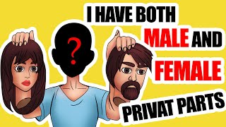 I'm Neither Male Nor Female || Real Life Stories Animated