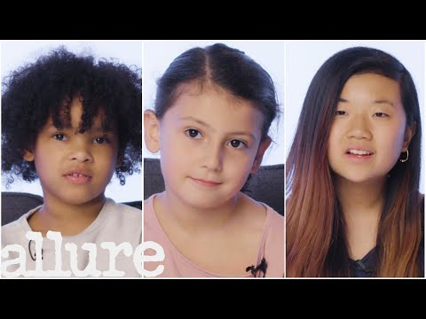 Girls Ages 5-18 Talk About What Beauty Means to Them   Allure
