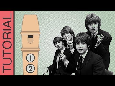 Comment jouer Hey Jude à la flûte (Beatles)