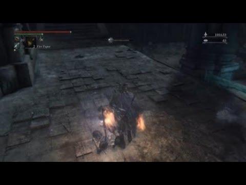 Bloodborne   boss fight celestial emissary