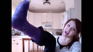 Girls in leg casts b