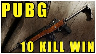 Nice PUBG 10 Kill Win