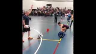 Girl Weightlifting Fail
