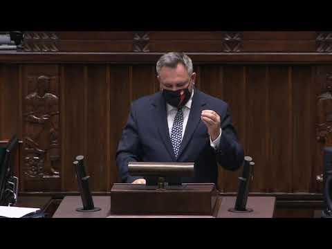 Mirosław Suchoń - wystąpienie z 28 października 2020 r.