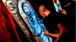 Billy Martinez, Alex Julian, and Kai Martin - Live Art Performance at the Ruby Room!