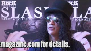Slash on 'Slash': Fergie (The Black Eyed Peas)