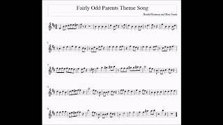 Fairly Odd Parents Theme For Alto/Bari Sax Sheet Music