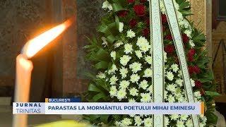Parastas la mormantul poetului Mihai Eminescu