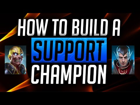 RAID: Shadow Legends | How to build a Support Champion!