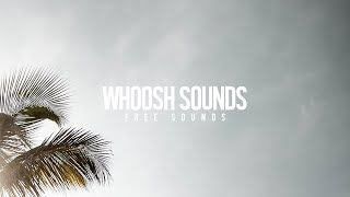 FREE Whoosh Transition Sound Effects | Creative Ryan