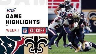 Texans vs. Saints Week 1 Highlights   NFL 2019