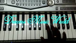 How to play Petta ullaallaa Song Piano Tutorial Notes ethana sandhosam Keyboard Notes By - DMW's