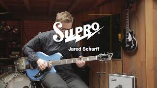 Supro Westbury Electric Guitar with Jared Scharff
