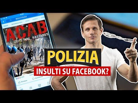 INSULTARE LA POLIZIA SU FACEBOOK: cosa si rischia?   Avv. Angelo Greco