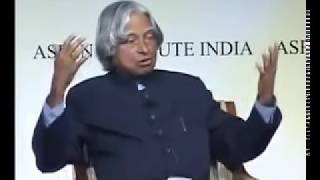 Dr. Abdul Kalam's inspirational speech to overcome failure in life