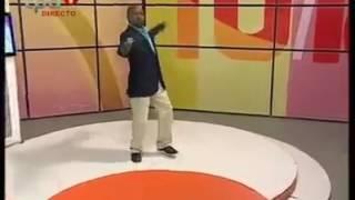 O melhor bailarino de Angola