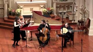 Bach Sonata in E Minor, Gigue; Natalie Carducci, baroque violin
