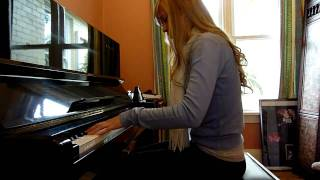 Lara plays Zelda medley, NES on piano