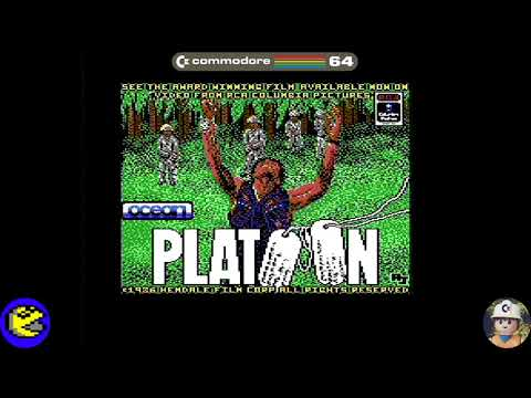Platoon loader, Commodore 64 - Real por S-Video
