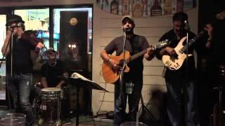 SlickWood singing up on the Blueridge at Crabby Bills 10/26/2014