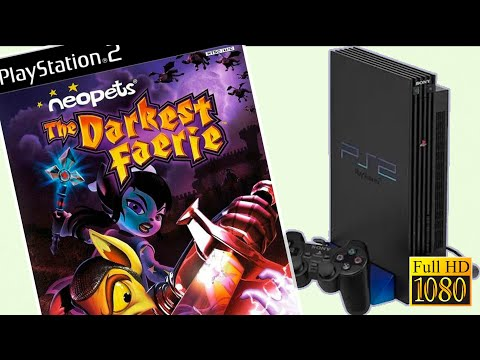 Playstation 2   NEOPETS THE DARK FAERIE   Gameplay 1080p.