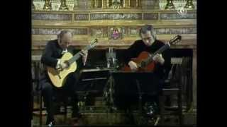 Julian Bream & John Williams | Golliwogg's Cakewalk | Claude Debussy