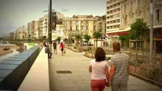 Les Sables d'Olonne la promenade du Remblai