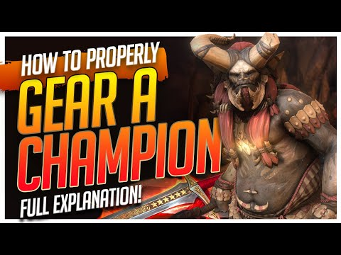 RAID | How to PROPERLY gear a champion!
