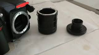 Next tutorial, DSLR adapter to microscope
