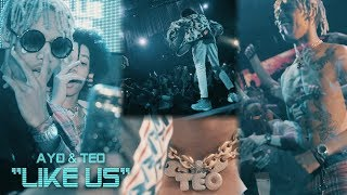 Ayo & Teo - LIKE US (Stage Performance)