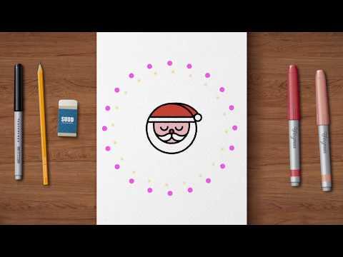 Lär dig rita kawaii – tomte | Arlakadabra