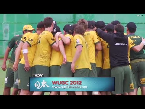Video Thumbnail: 2012 World Ultimate Championships, Men's Crossover: USA vs. Australia