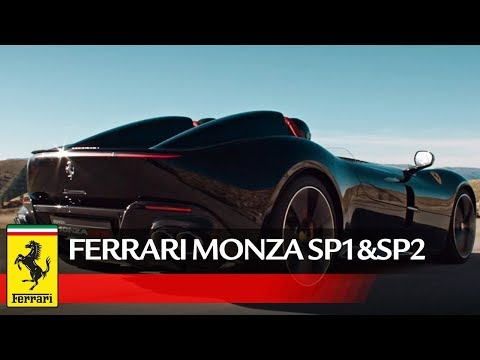 GT Ferrari ICONA MONZA SP1SP2 New Official Video YT