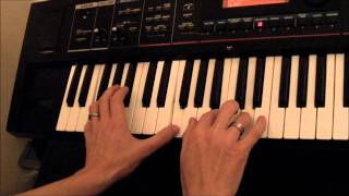 How to play Adagio for strings tutorial on Keyboard or Piano