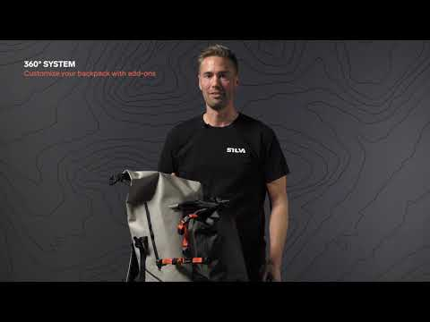 SILVA 360° backpacks with unqiue add-ons system