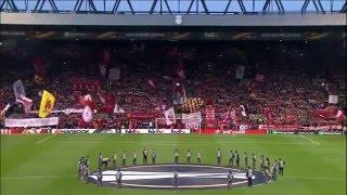 You'll Never Walk Alone (Liverpool vs Dortmund 14th April 2016)