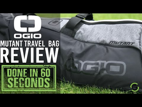 OGIO MUTANT GOLF BAG - DONE IN 60 SECONDS