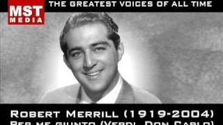 100 Greatest Singers: ROBERT MERRILL
