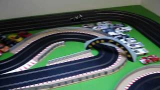 My Latest Scalextric track layout.