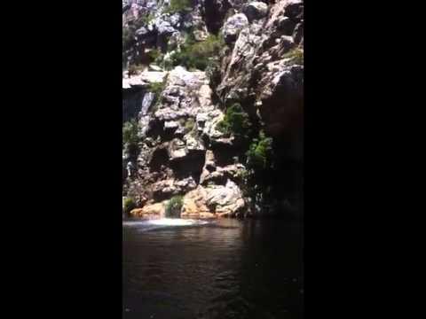 Nick jumps 26 meter cliff.