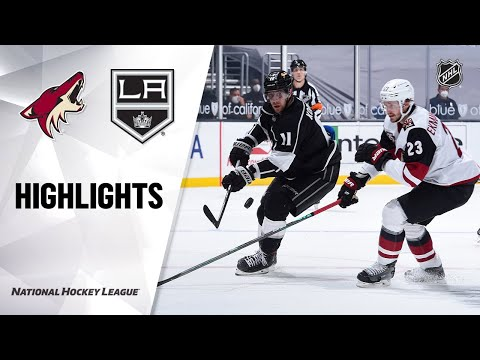 Coyotes @ Kings 4/7/21 | NHL Highlights