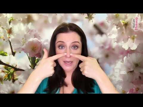 Как уменьшить нос с помощью макияжа. Коррекция носа от Жанны Сан-Жак photo