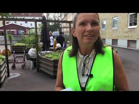 Omvandling av innergård efter hyresgästers önskemål