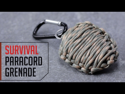 Learn How To Make A This Survival Paracord Grenade
