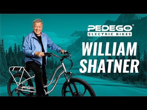William Shatner - What's it feel like to ride a Pedego Electric Bike?