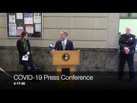 COVID-19 Press Conference 3-17-2020