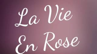 """La Vie En Rose"" (piano cover)"