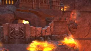 Heroes of Might & Magic 5 Inferno Town Theme Animatic (2005, Ubisoft/Nival) 1080p Animation